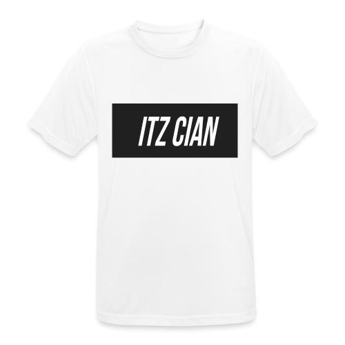 ITZ CIAN RECTANGLE - Men's Breathable T-Shirt