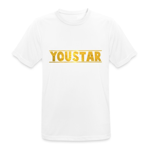 Golden Youstar Merch - Men's Breathable T-Shirt