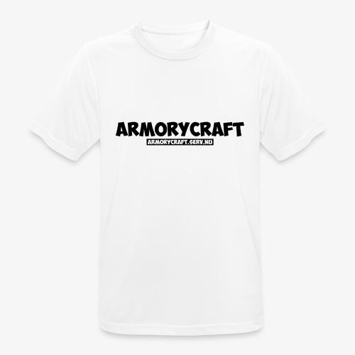 ArmoryCraft- Mannen korte mouw - Mannen T-shirt ademend actief
