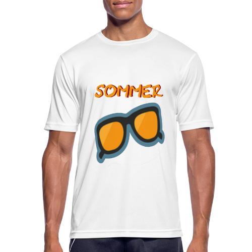 Sommer Sonnenbrille - Männer T-Shirt atmungsaktiv