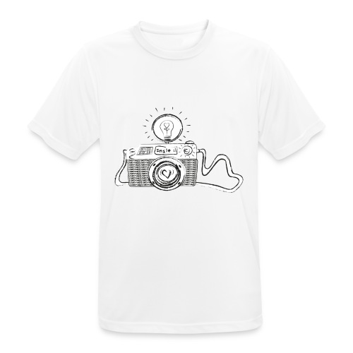S33 camera-smile - Männer T-Shirt atmungsaktiv