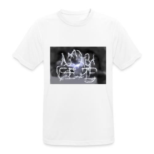 Fake Metal Band - Maglietta da uomo traspirante
