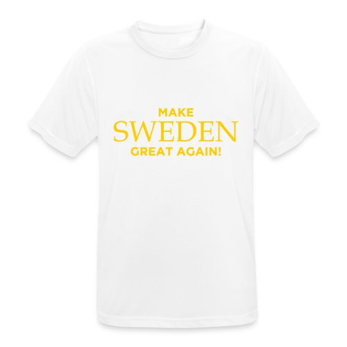 Make Sweden Great Again! - Andningsaktiv T-shirt herr