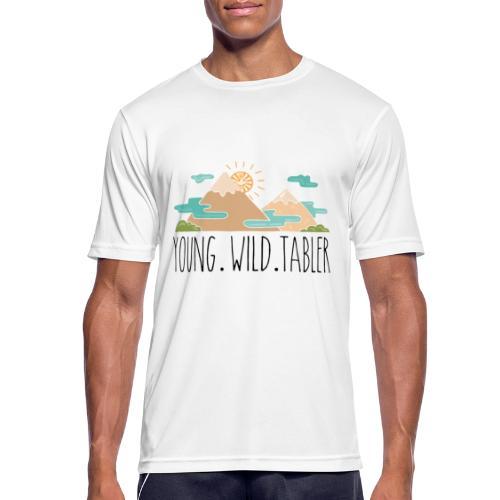 young.wild.tabler - Männer T-Shirt atmungsaktiv