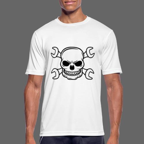 MEKKER SKULL - Herre T-shirt svedtransporterende