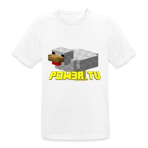 POW3R-IMMAGINE - Maglietta da uomo traspirante