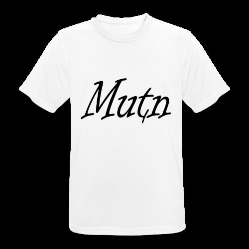 ontwerp2mutn - mannen T-shirt ademend