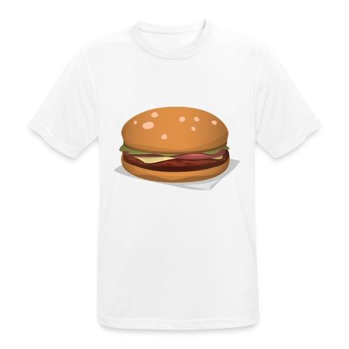 hamburger-576419 - Maglietta da uomo traspirante