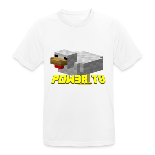 POW3R - Maglietta da uomo traspirante