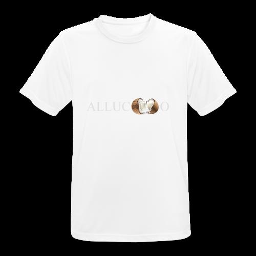 allucoco negro - Camiseta hombre transpirable