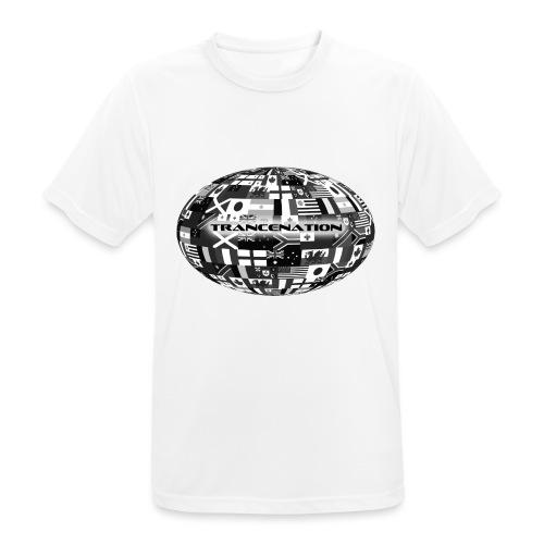 trancenation - Andningsaktiv T-shirt herr