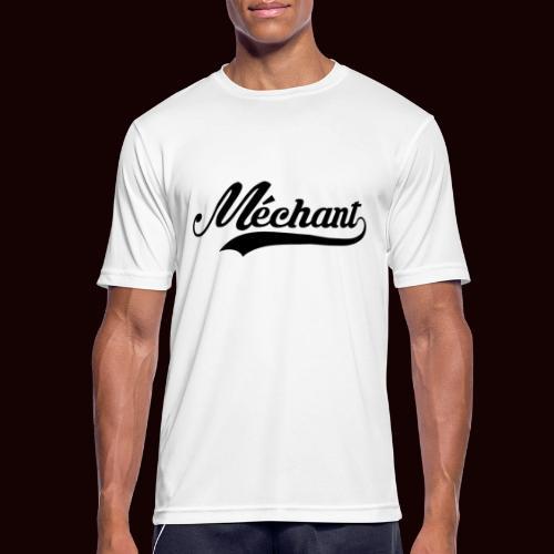 mechant_logo - T-shirt respirant Homme