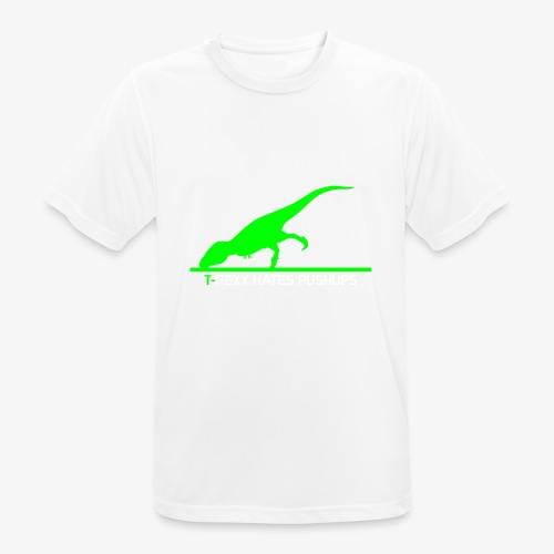 Rexx Hates Pushups - Men's Breathable T-Shirt