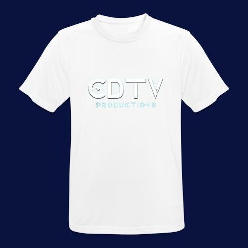 Full CDTVProductions Logo - Men's Breathable T-Shirt