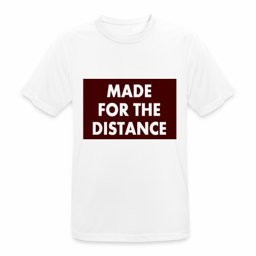 MADE FOR THE DISTANCE - Männer T-Shirt atmungsaktiv