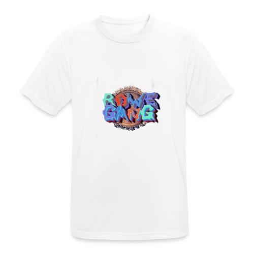 RoweGang Basic Logo - miesten tekninen t-paita