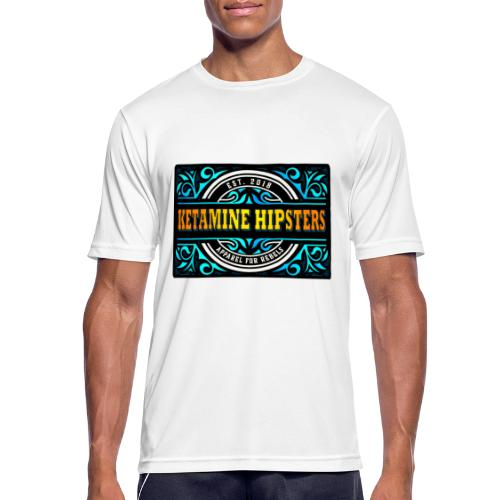 Black Vintage - KETAMINE HIPSTERS Apparel - Men's Breathable T-Shirt