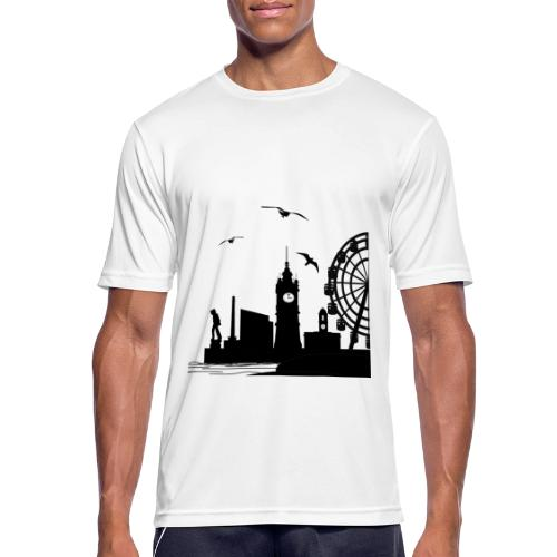 Silhouette of Margate - Men's Breathable T-Shirt