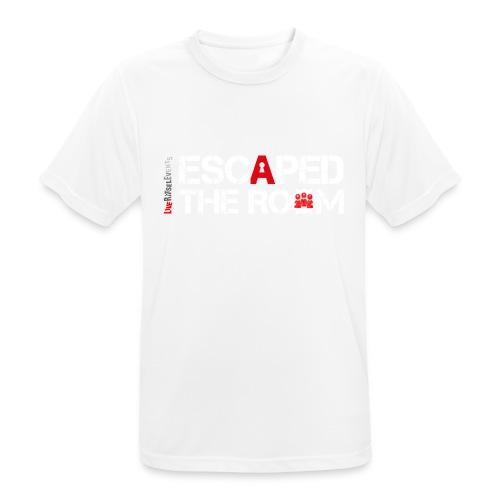 Escaped the room - Männer T-Shirt atmungsaktiv