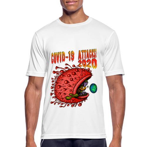 Covid-19 Attacks! 2020 - Männer T-Shirt atmungsaktiv