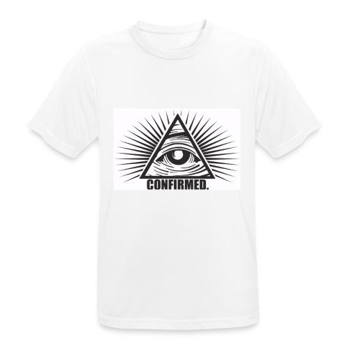 Illuminati - Männer T-Shirt atmungsaktiv