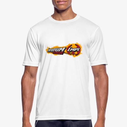Logo EMPi fond jaune - T-shirt respirant Homme