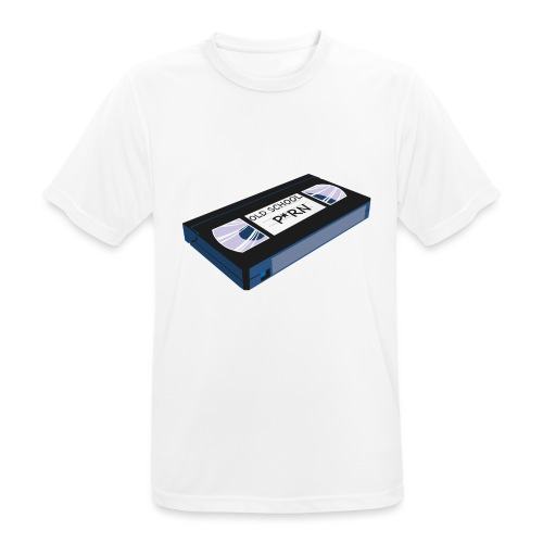 OLD SCHOOL P * RN vhs - T-shirt respirant Homme