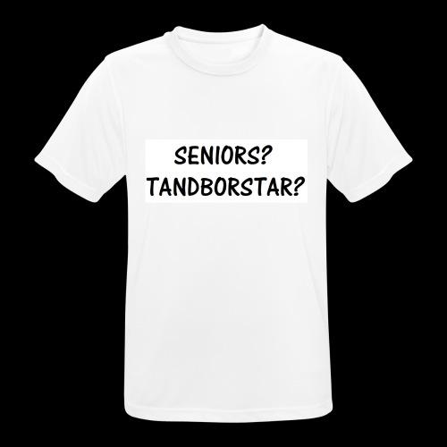 Seniors? Tandborstar? - Andningsaktiv T-shirt herr