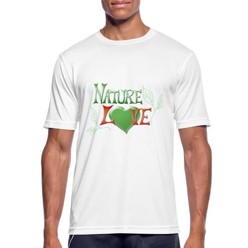 Nature Love - Männer T-Shirt atmungsaktiv