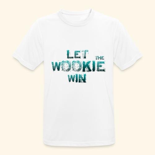 Let The Wookie Win, design 2. - Herre T-shirt svedtransporterende