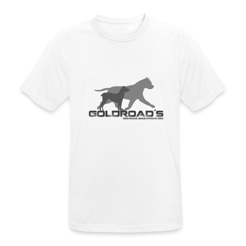 Goldroads - Andningsaktiv T-shirt herr
