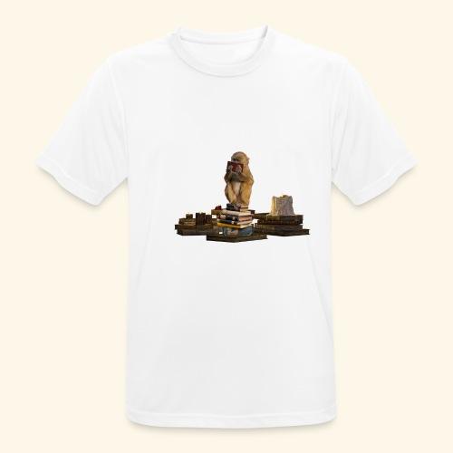 Booky - Männer T-Shirt atmungsaktiv