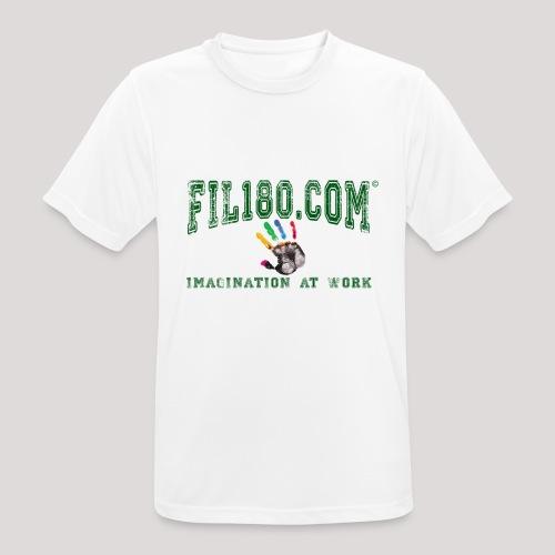 FIL180 HOODY GREEN - Men's Breathable T-Shirt