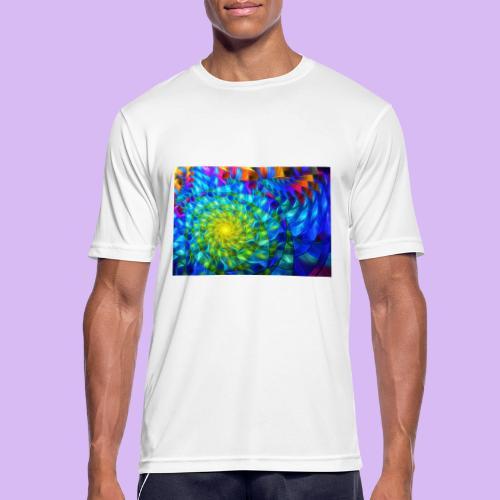 Astratto luminoso - Maglietta da uomo traspirante