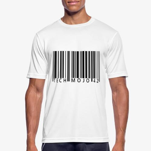 TM graphic Barcode Answer to the universe - Men's Breathable T-Shirt