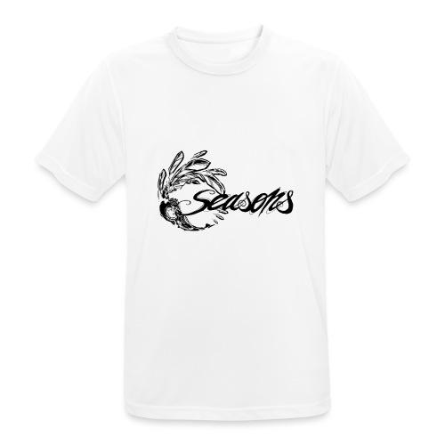 Seasons - Black logo - T-shirt respirant Homme