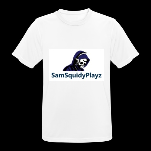 SamSquidyplayz skeleton - Men's Breathable T-Shirt