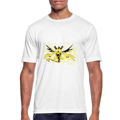 Fulgur il drago elettrizzante - Maglietta da uomo traspirante