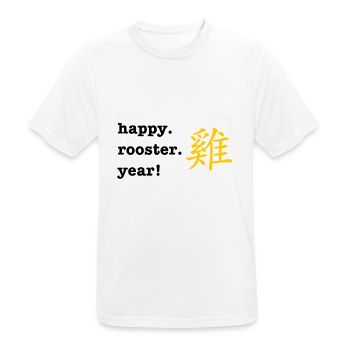 happy rooster year - Men's Breathable T-Shirt