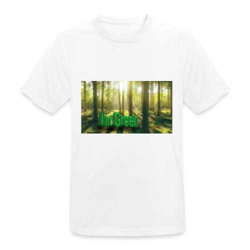 I'm Green. - Andningsaktiv T-shirt herr