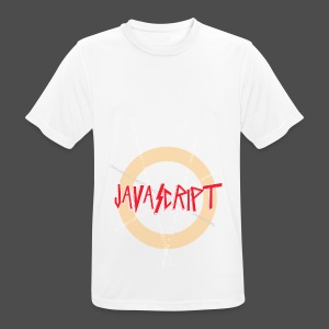 Javascript metal t-shirt - mannen T-shirt ademend