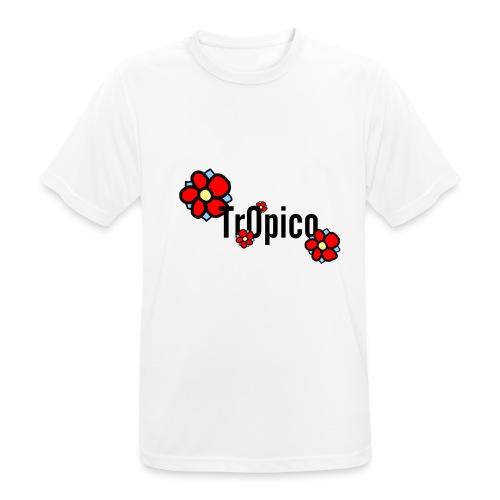 tr0pico - Mannen T-shirt ademend actief