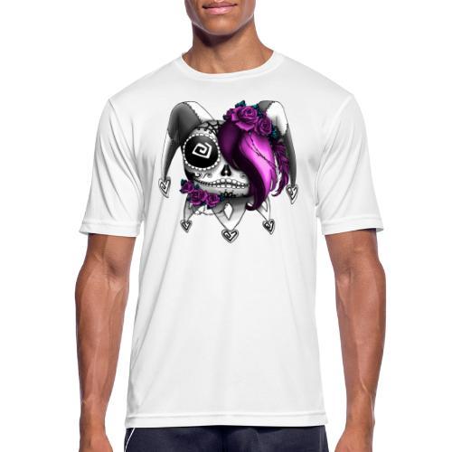 La Catrina Bajorette - Pink Lady - Männer T-Shirt atmungsaktiv