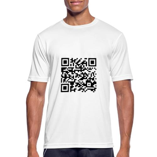QR Brid - Männer T-Shirt atmungsaktiv