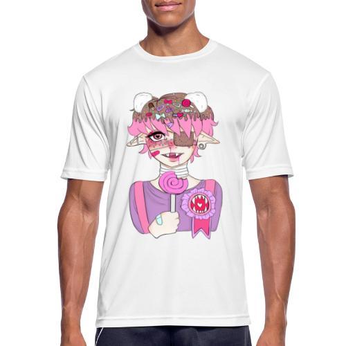 Sweet Thooth - miesten tekninen t-paita