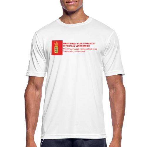 MINISTERIET FOR AFVIKLING AF OFFENTLIG VIRKSOMHED - Herre T-shirt svedtransporterende