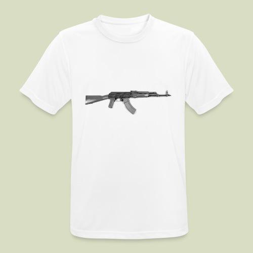 AK - miesten tekninen t-paita