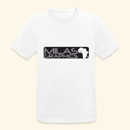 Milas Graphics Africa - T-shirt respirant Homme