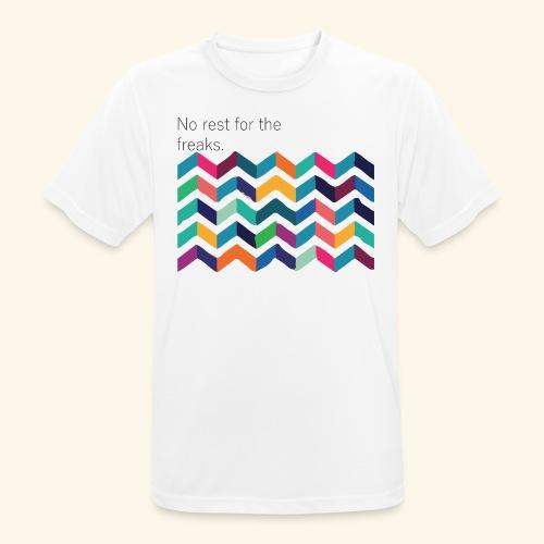 No rest - T-shirt respirant Homme