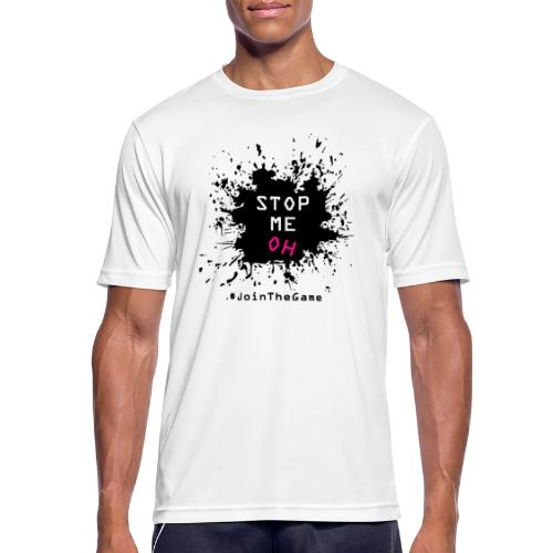 Stop me oh - Men's Breathable T-Shirt